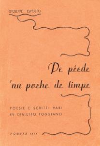 Giuseppe Esposto - Pe perde 'nu poche de timpe