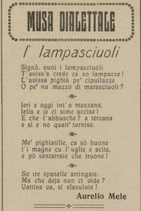 Aurelio Mele - I' lampasciuoli