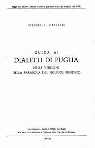 Michele Melillo - Guida ai dialetti di Puglia - Foggia