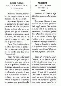 Attilio Zuccagni-Orlandini - Dialogo tra un padrone e un servitore
